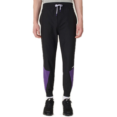 CLEPTOMANICX Trackpants TRACK TWO black/petunia purple