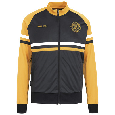 UNFAIR ATHLETICS Trainerjacke DMWU WANDERERS black/yellow