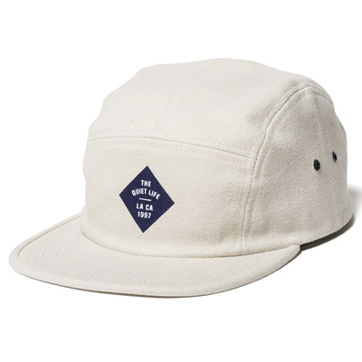 THE QUIET LIFE 5Panel Cap TRAVELER stone
