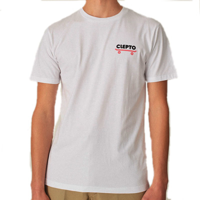 CLEPTOMANICX T-Shirt CLEPTO GOOD white