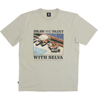 SELVA T-Shirt DRAW & PAINT Vol 2 beige
