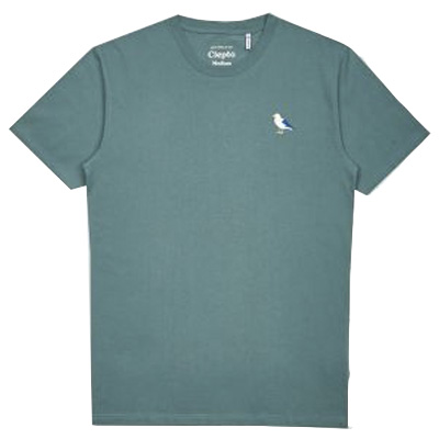 CLEPTOMANICX T-Shirt EMBRO GULL north atlantic