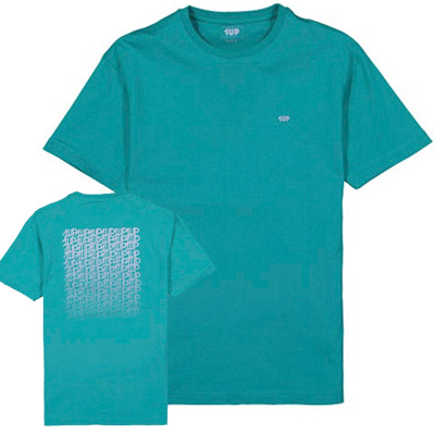 1UP T-Shirt FADERUNER mint/lilac