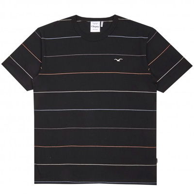 CLEPTOMANICX T-Shirt MULTI STRIPE black/multi