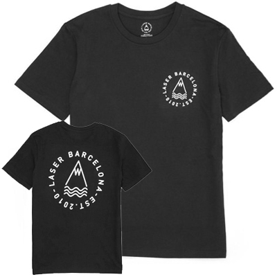LASER T-Shirt OG TEE black/white