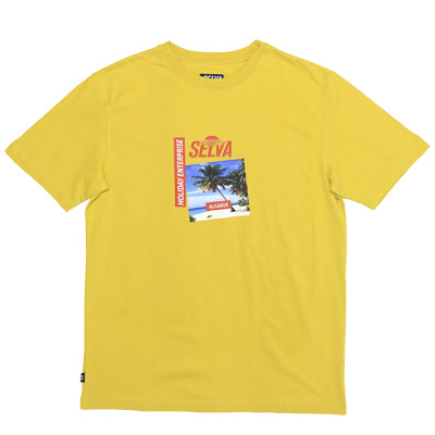 SELVA T-Shirt PARAISO yellow