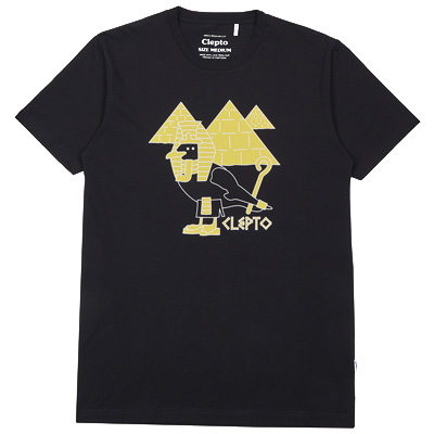 CLEPTOMANICX T-Shirt PHARAO GULL black