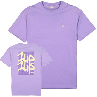 1UP T-Shirt PURPLE POWER lilac