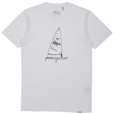 CLEPTOMANICX T-Shirt SAIL white