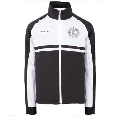 UNFAIR ATHLETICS Windrunner LIGHT CARBON black/white