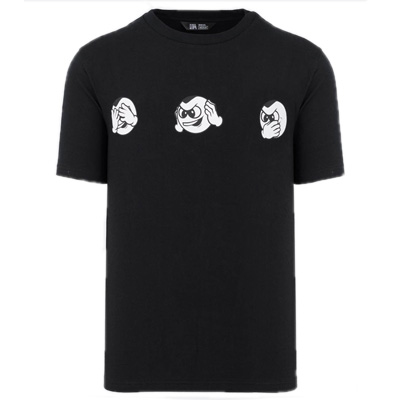 UNFAIR ATHLETICS T-Shirt NO EVIL black