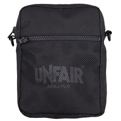 UNFAIR ATHLETICS Pusher Bag CLASSIC LABEL black