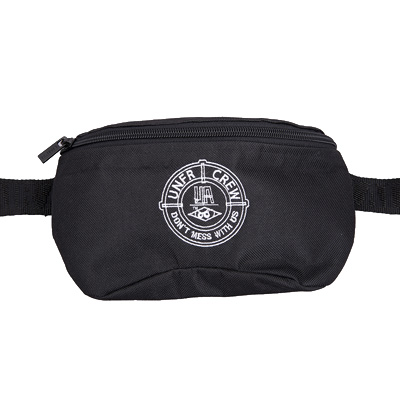 UNFAIR ATHLETICS Hipbag DMWU black