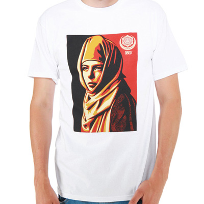 OBEY T-Shirt UNIVERSAL PERSONHOOD white