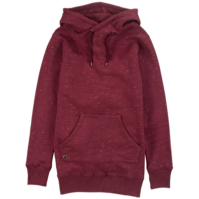 CLEPTOMANICX Girl Long Hoody LORAT burgundy