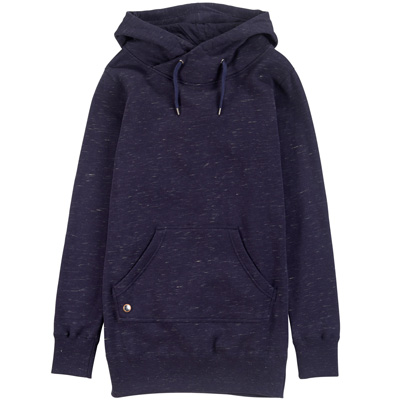 CLEPTOMANICX Girl Long Hoody LORAT dark navy