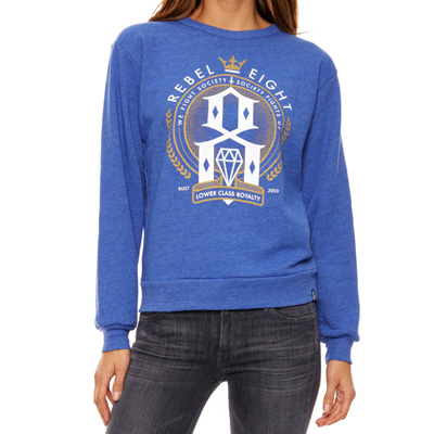 REBEL8 Girl Sweater LOWER CLASS ROYALTY royal