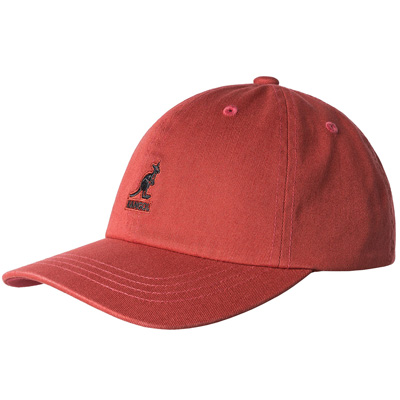 1f258acf71c Kangol Headwear - KANGOL Baseball Cap WASHED clay red - Diverse Caps ...