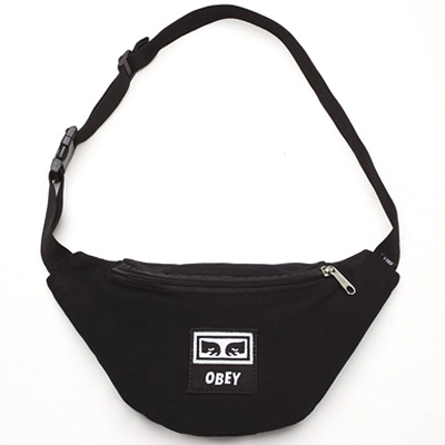 OBEY Hipbag WASTED black