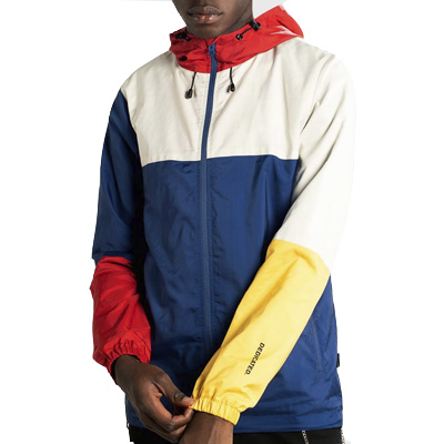 DEDICATED Windbreaker SKARA BLOCKS blue/multi
