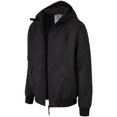 CLEPTOMANICX Winter Jacket SIMPLIST HEMP black