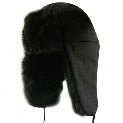 db6955059b1d3 Kangol Headwear - KANGOL Wool Ushanka black - Beanies - Layup Online ...