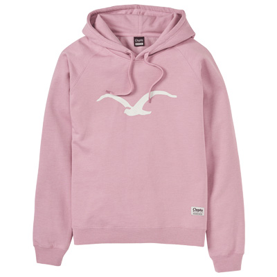 CLEPTOMANICX Girl Hoody MÖWE 3 heather zephyr