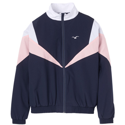 CLEPTOMANICX Girl Trackjacket TRACK dark navy/rose/white