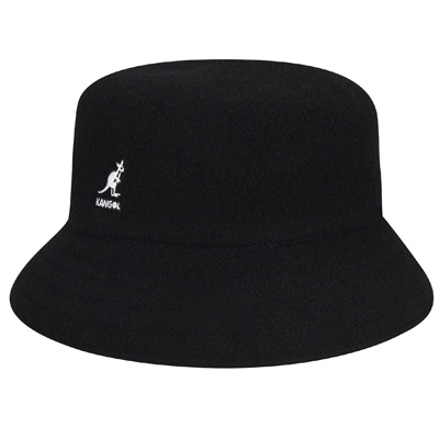 KANGOL Bucket Hat WOOL LAHINCH black