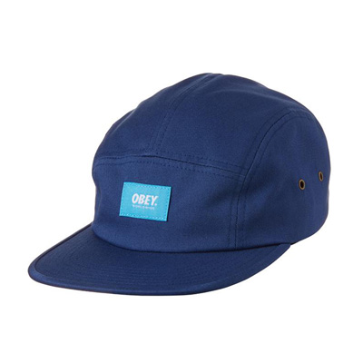 OBEY 5Panel Cap WORLDWIDE navy