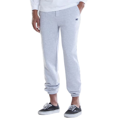 OBEY Sweatpants WORLDWIDE LOGO heather grey