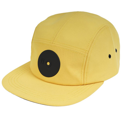 MR. SERIOUS 5Panel Cap YELLOW FAT yellow/black