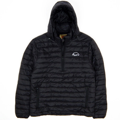ANTEATER Winterjacke PACKABLE ANORAK black