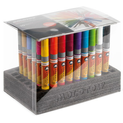 MOLOTOW ONE4ALL Acrylic Twin Marker Complete Set (50pcs)