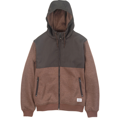 CLEPTOMANICX Jacke AKIN dark brown