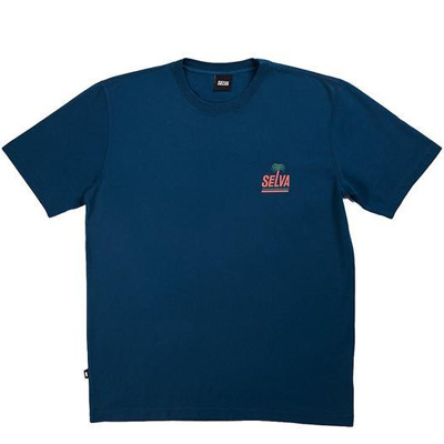 SELVA T-Shirt ALGARVE navy