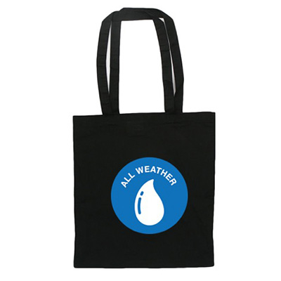 VANDALS ON HOLIDAYS Tote Bag ALL WEATHER black