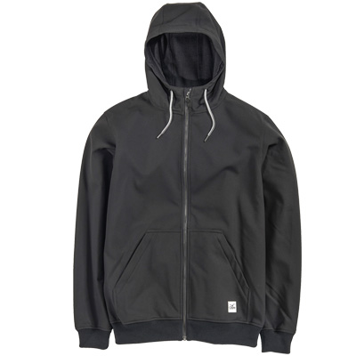 CLEPTOMANICX Jacket TECH HOODED black