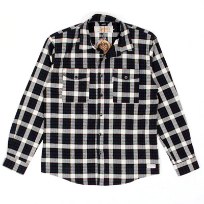 ANTEATER Shirt CHECKER black/white