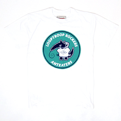 ANTEATER T-Shirt LOOPTROOP ROCKERS white