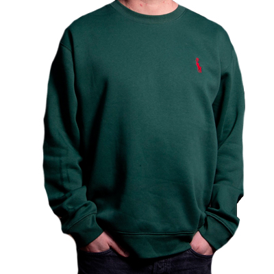 500K Sweater ANTIFA POLO green/red