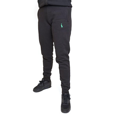 500K Sweatpants ANTIFA POLO black/green