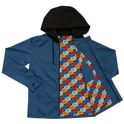 HEROKID Hooded Jacket ART ET SPORT DE RUE blue