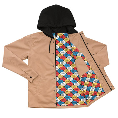 HEROKID Hooded Jacket ART ET SPORT DE RUE beige
