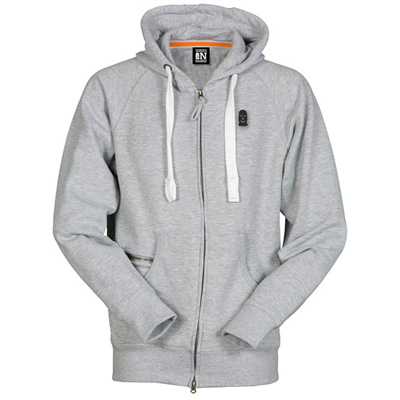 VANDALS ON HOLIDAYS Hooded Zipper MASK ash grey