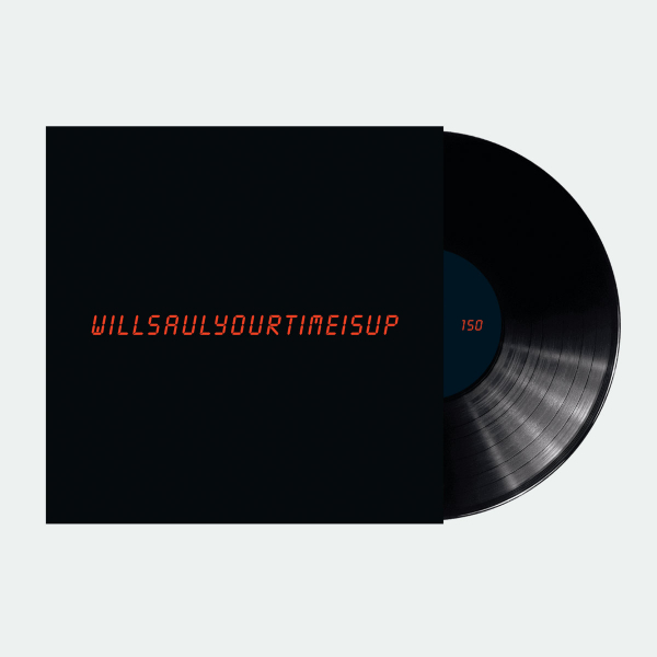 Will Saul - Your Time Is Up (Ft Move D Rmx) - Vinyl 12""
