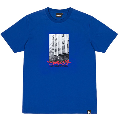 SLUMDOG T-Shirt BABILONIA royal blue