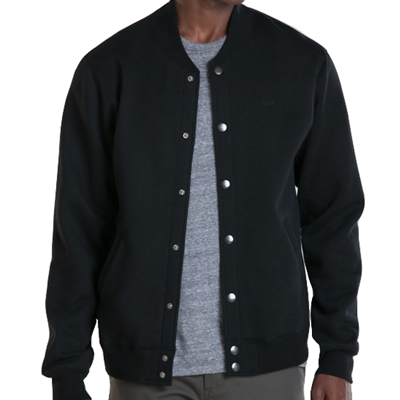 OBEY Jacke BACK LOT black