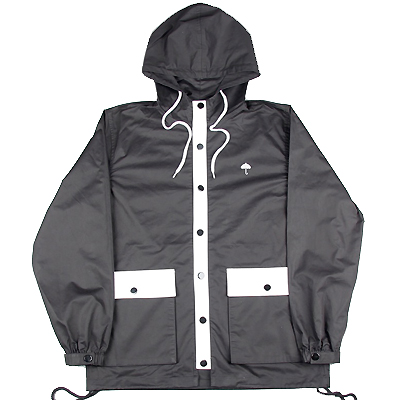 HELAS Hooded Coach Jacket BADMAN black