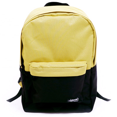 ANTEATER Rucksack CITY BAG yellow/black